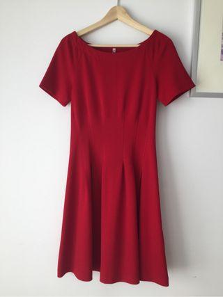 Vestido rojo cereza