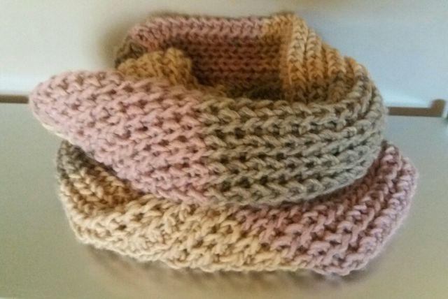 cuello / bufanda tricolor