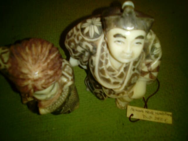 Okimonos y Netsukes japoneses