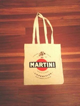bolsa tela Martini