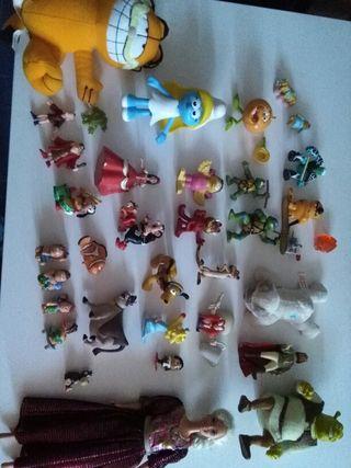 Muñecos pvc goma disney