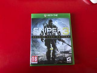 Sniper 3 Ghost Warrior xboxOne