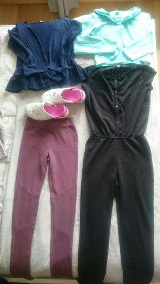 Lote de ropa niña 9-12años