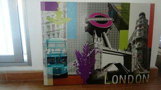 lienzo Londres