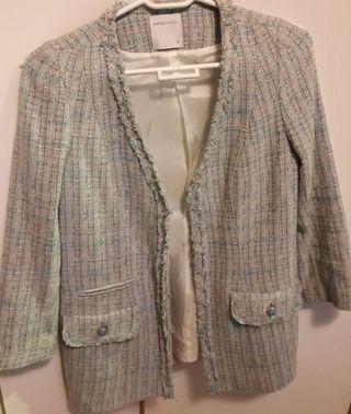 chaqueta de blanco suit talla s.