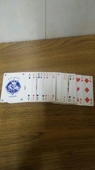 Cartas de poker a estrenar