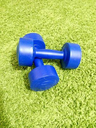 Pesas de 2 kilos fitness / pilates