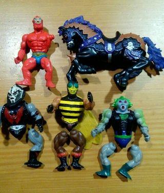 Lote Mastters del universo de Mattel