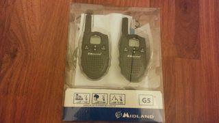 midland G5 walkie talkies