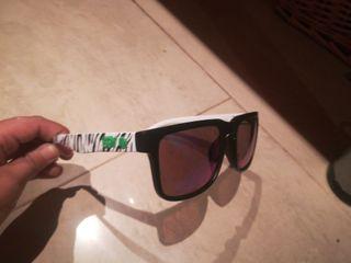 Gafas de sol con vidrio de color