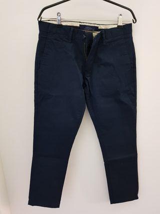 Mano Segunda Hombre Por Zara Talla 38 De 10 Vestir Pantalones YwxS101 1a6bdd92f09