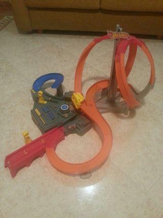 Pista super looping hot wheels