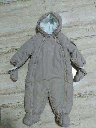 Pelele abrigo bebé