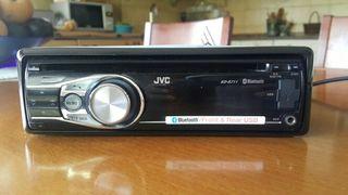 Radio coche mp3 usb JVC