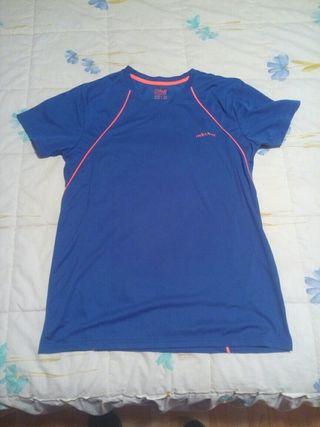 camiseta running talla m