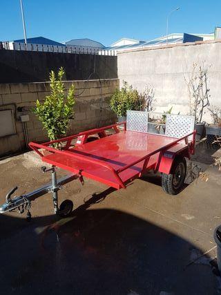 alquiler de carro remolque motos / quad