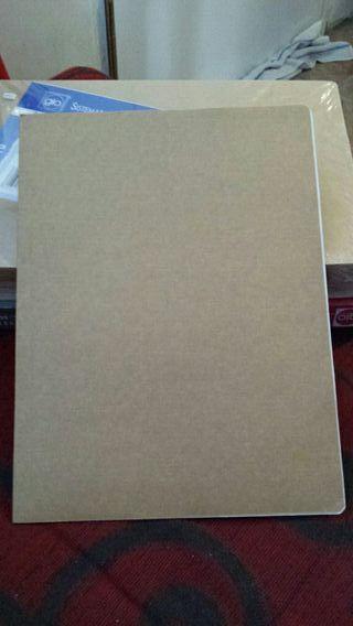 subcarpetas de clasificación o archivo