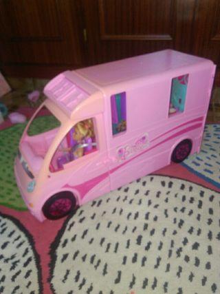 caravana de Barbie