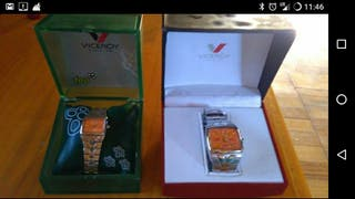 vendo pareja de relojes viceroy sin estrenar