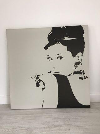 Cuadro lienzo Audrey