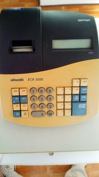 maquina registradora olivetti ecr 5000