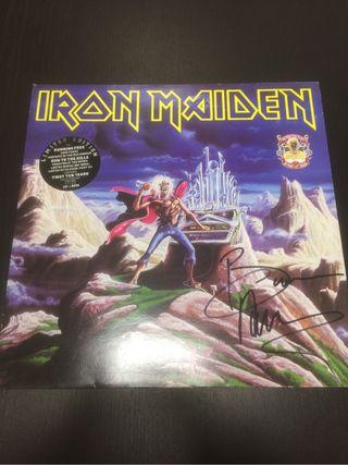 Iron maiden firmado bruce Ep