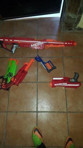 pistolas de nerf