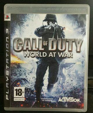 Call of duty Word at war