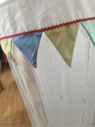 - - decoracion cuna/cama - -