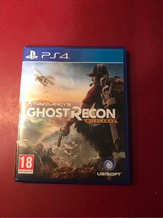 Juego Ghost Recon Wildlands Ps4