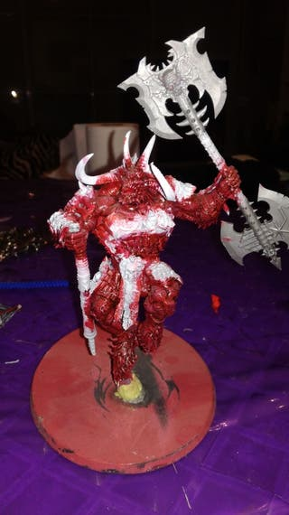 Miniatura Warhammer Demonios del caos, 40000