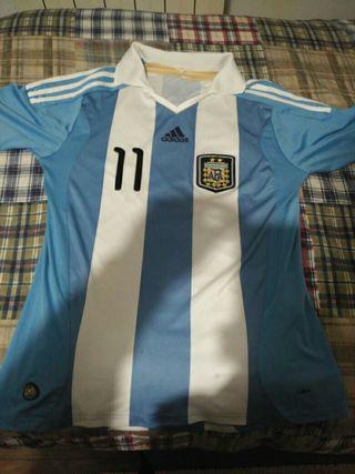 Camiseta fútbol Argentina,gastos de envio incluido