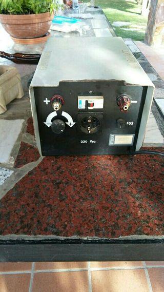 convertidor de corriente
