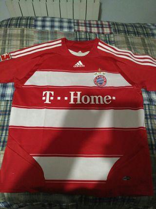 Camiseta Futbol Bayern Munich