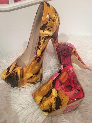 Zapatos 40 tacon
