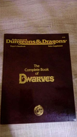 The Complete Book of Dwarves AD&D