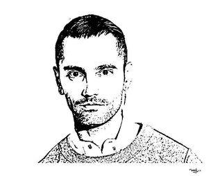 Retrato David Delfin