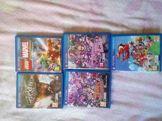 Vendo juegos de PlayStation Vita