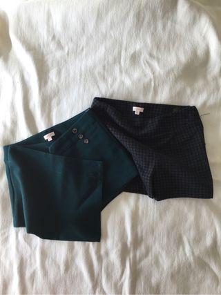 2 Shorts gocco, talla5-6
