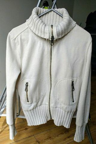 ZARA woman white jacket. Small