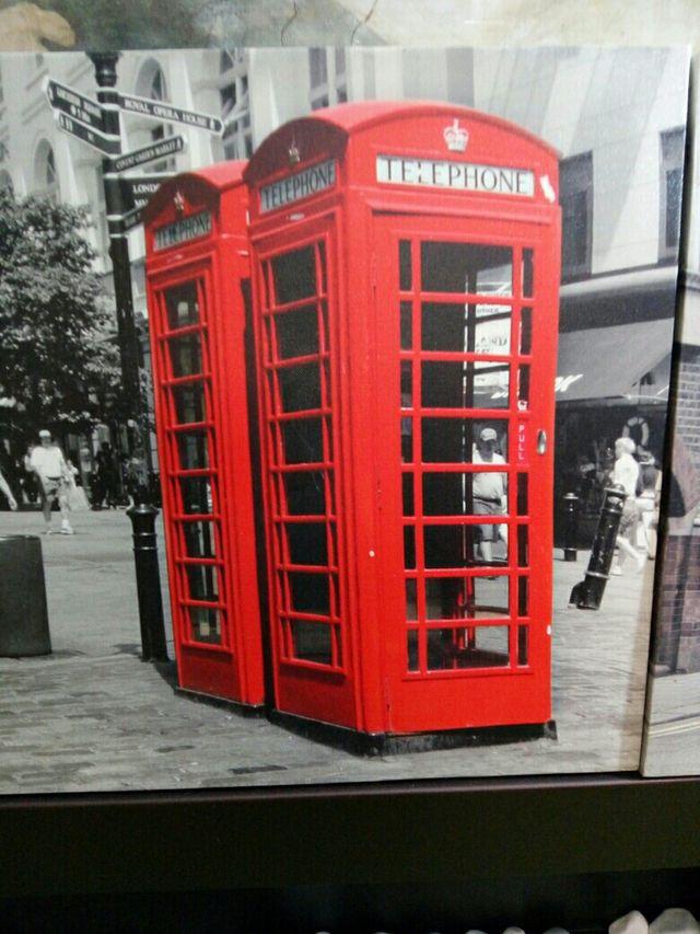 Conjunto de cuadros temática Londres