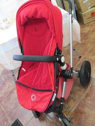 Carrito bebé bugaboo Camaleón Rojo