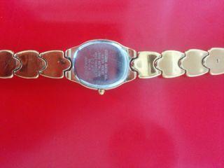 reloj citizen mujer bañado en oro