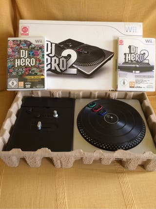 DJ Hero2 mas 2 juegos para Wii