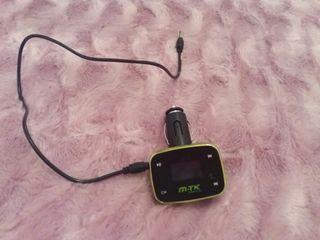 Cable usb para coche + mando