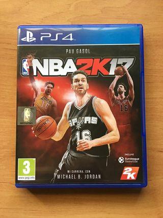 Videojuego Ps4 NBA 2K17