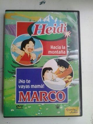 colección dvd Heidi y Marco