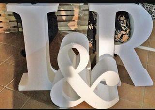letras bodas, comuniones, bautizos, fiestas
