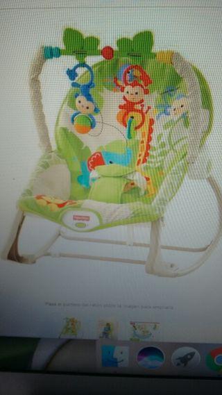 Hamaca infantil Fisher-price.