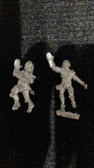 Blood Bowl Humanos Runners Corredores metal x2